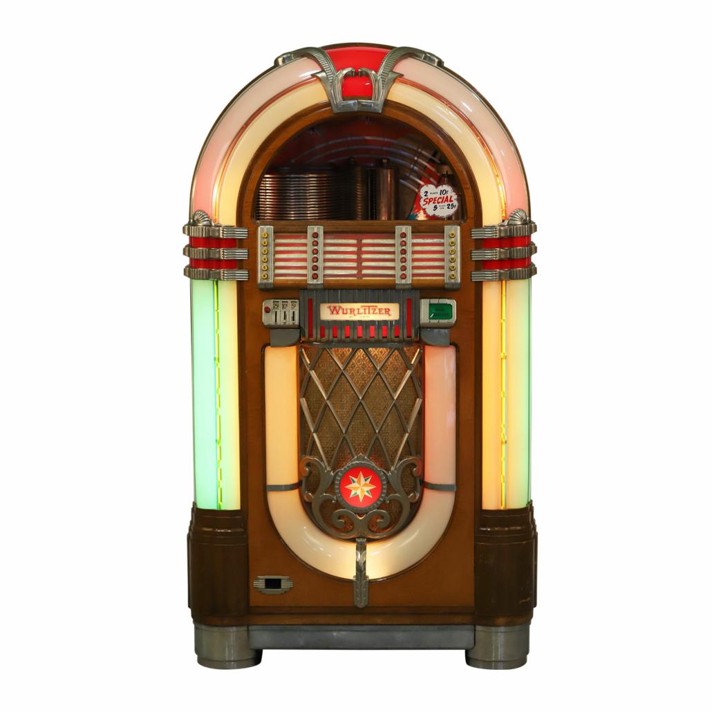 Wurlitzer Model 1015 jukebox, est. CA$6,000-$8,000