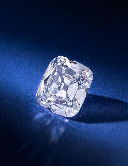 Diamond ring by Taffin, est. $250,000 - $350,000