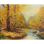 Untitled landscape by Bert Geer Phillips, est. $3,000-$5,000