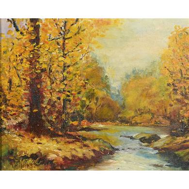Bert Geer Phillips landscape to lead Michaan's Aug 14 auction