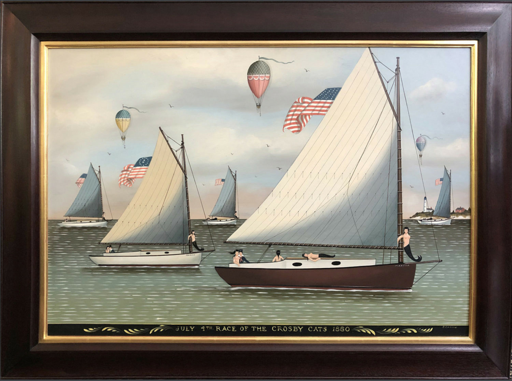 Ralph Eugene Cahoon Jr., 'July 4th Race of the Crosby Cats,' 1880, est. $70,000-$90,000