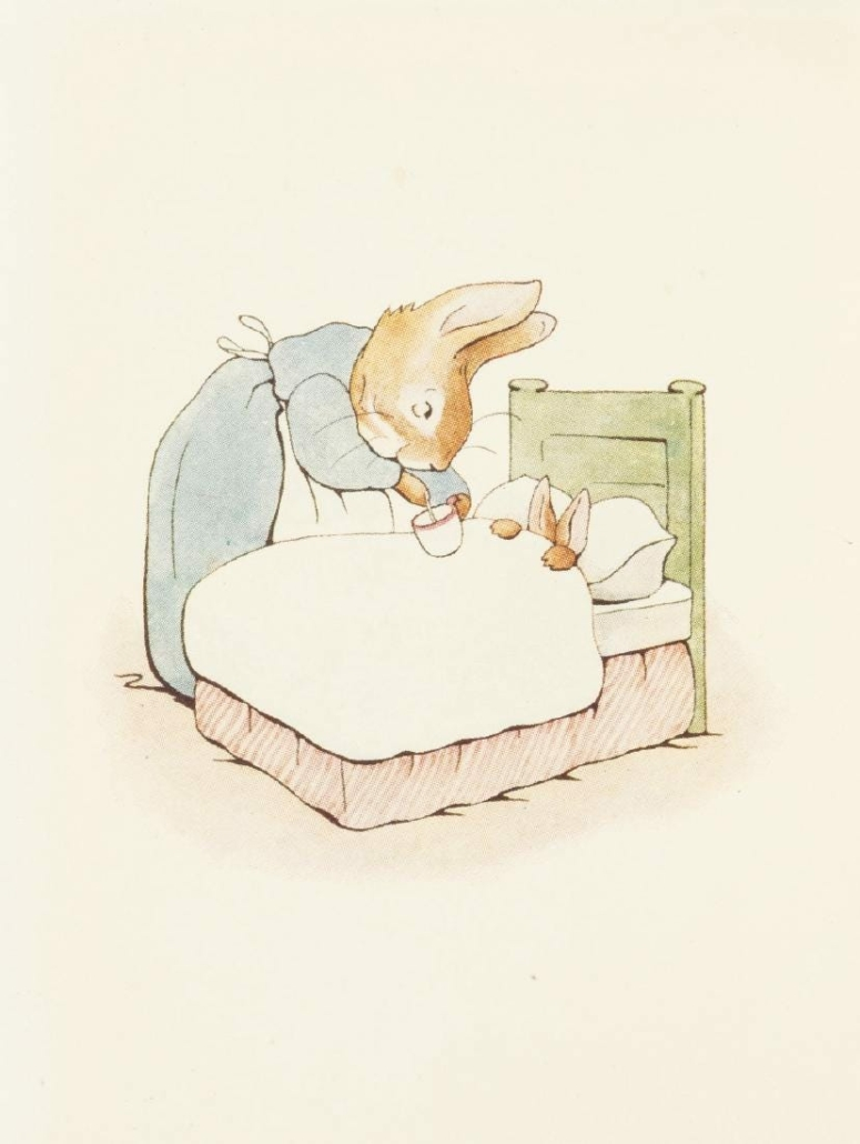 A first edition of The Tale of Peter Rabbit sold for $16,515 plus the buyer's premium in March 2017 at Forum Auctions. Photo courtesy of Forum Auctions and LiveAuctioneers.