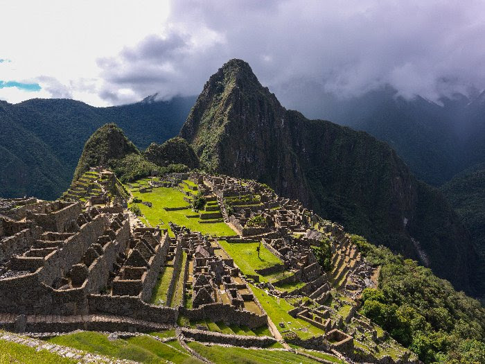 Aerial view of Machu Picchu, a UNESCO World Heritage Site. Photo courtesy of World Heritage Exhibitions