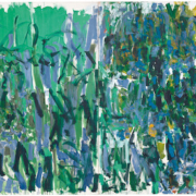 Joan Mitchell, 'No Rain,' 1976; collection The Museum of Modern Art, New York, gift of the Estate of Joan Mitchell; © Estate of Joan Mitchell