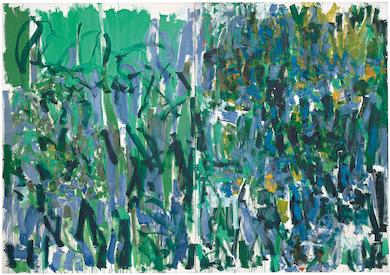 Joan Mitchell retrospective on view till January in San Francisco
