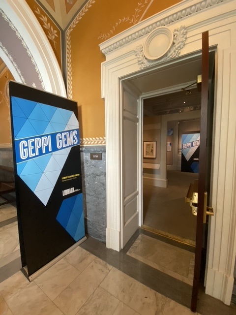 Geppi Gems, an exhibit drawn from the pop culture collection of Steve Geppi, is now on view at the Library of Congress.