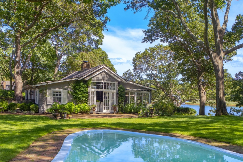 Exterior of John Steinbeck's Sag Harbor home, where he wrote 'Travels with Charley.' Photo credit: Richard Taverna for Sotheby's International Realty