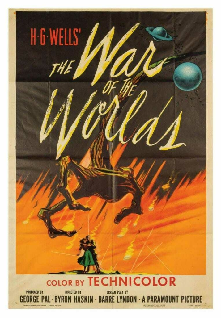 War of the Worlds poster, est. $3,000-$5,000