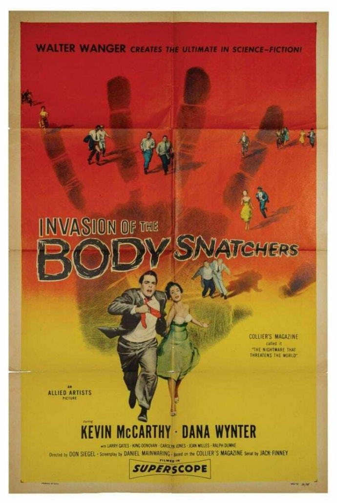 Invasion of the Body Snatchers, est. $1,000-$2,000
