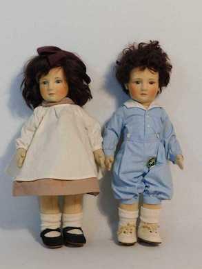 R. John Wright artist dolls, Steiff bears star in Sept. 14 New York auction
