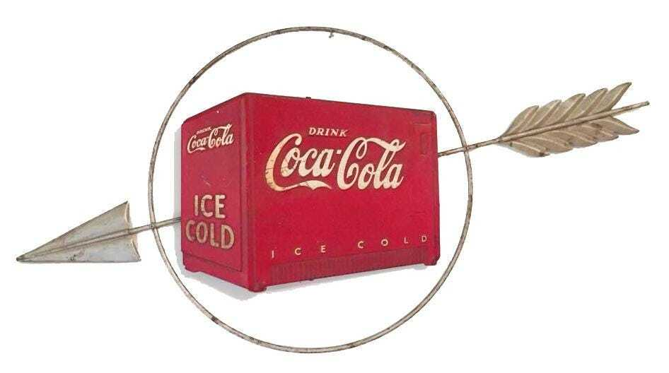 Early 1940s three-dimensional Coca-Cola cooler sign, est. $3,000-$3,500