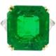 Circa-1980s emerald and diamond ring by Harry Winston, est. $252,000-$302,000