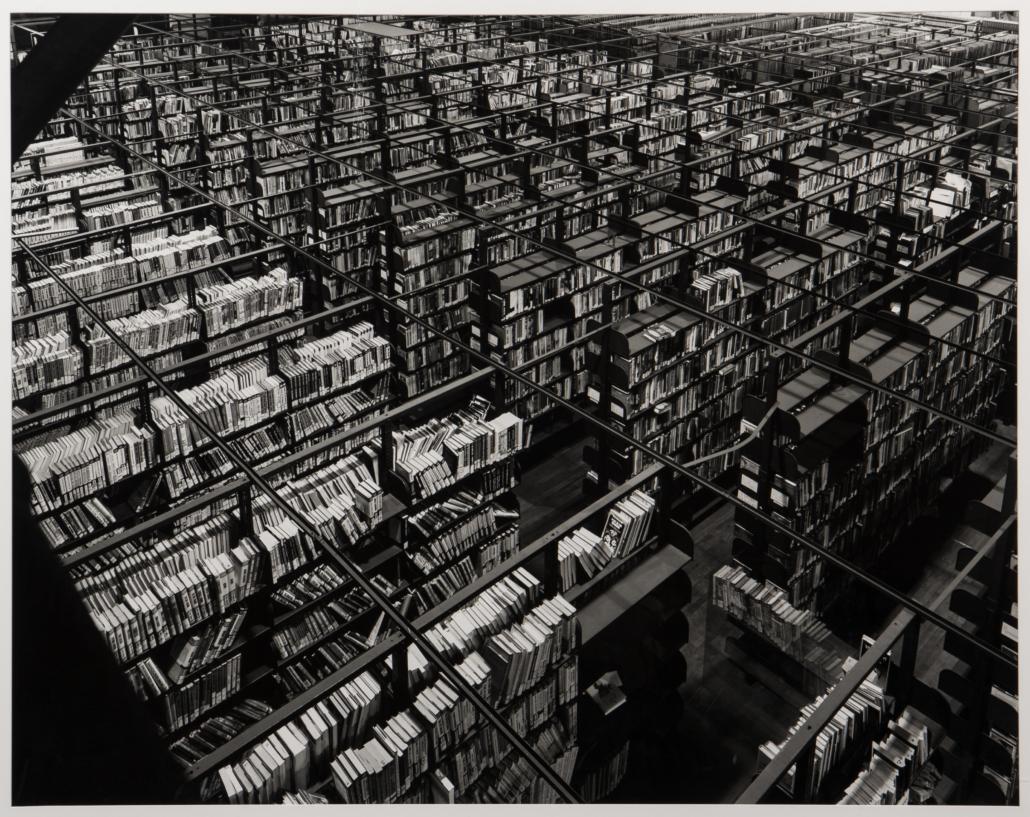 Abelardo Morell, 'Book Stacks in a Very Big Space #1,' est. $12,500-$15,000
