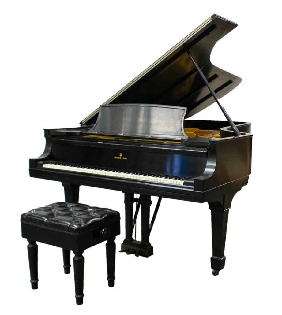 Steinway Model D concert grand piano in ebony finish, est. $50,000-$60,000