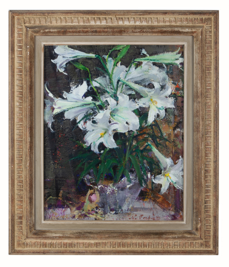 Nicolai Fechin, 'Untitled (White Easter Lillies),' $281,000