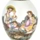Partial Chinese Imperial Falangcai European-subject porcelain vase, est. $100,000-$300,000