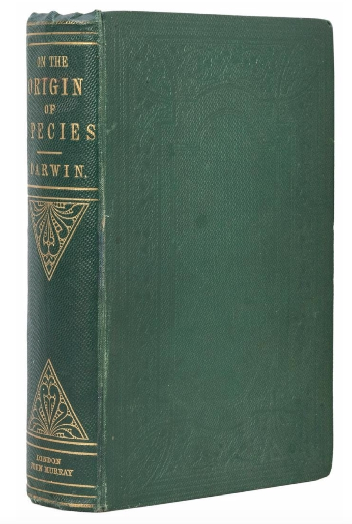 Charles Darwin's On the Origin of Species, second edition, second issue, $10,200
