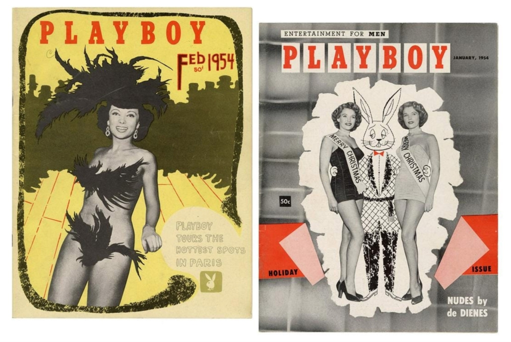 Two Playboy magazines from 1954, $5,520