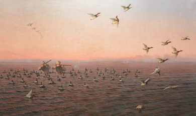 Chesapeake Bay museum wins important painting at Guyette & Deeter