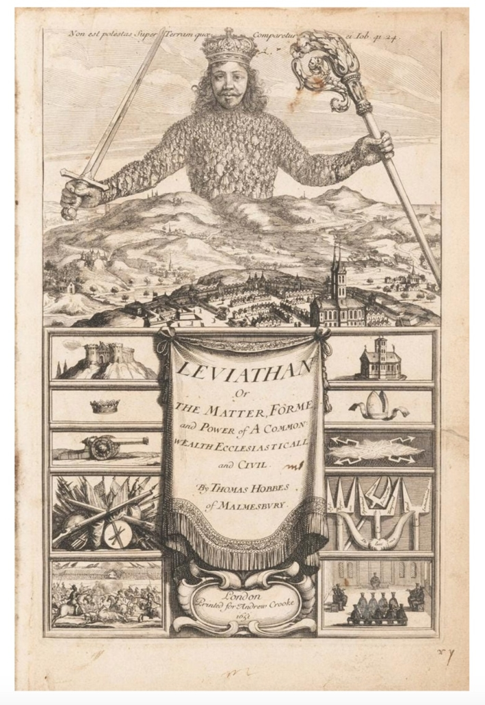 Thomas Hobbes' Leviathan, $21,600