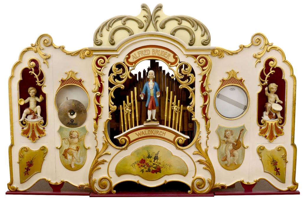 Circa-1928 book-playing fairground organ, est. €20,000-€30,000