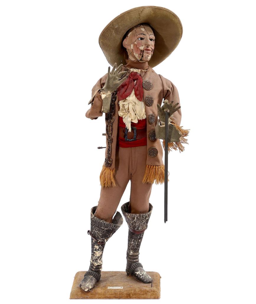 Buffalo Bill smoking automaton, est. €7,000-€9,000