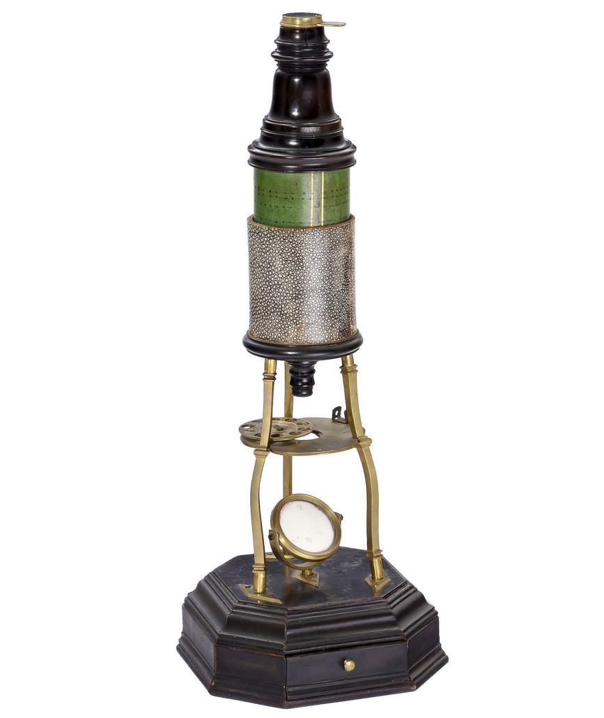 18th-century Culpeper-type microscope, est. €12,000-€14,000