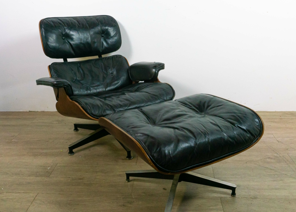 Eames for Herman Miller lounge chair and ottoman, est. $1,000-$2,000