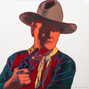 Andy Warhol, 'John Wayne (from Cowboys and Indians),' est. $40,000- $60,000