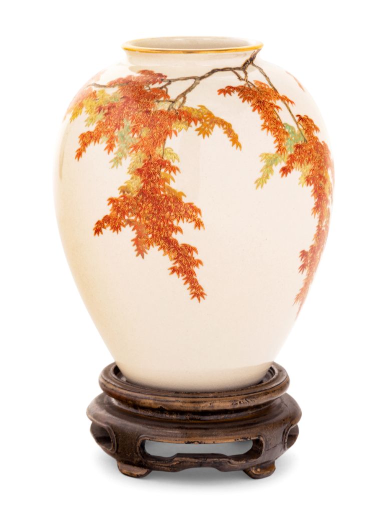 Satsuma vase by Yabu Meizan, est. $4,000-$6,000