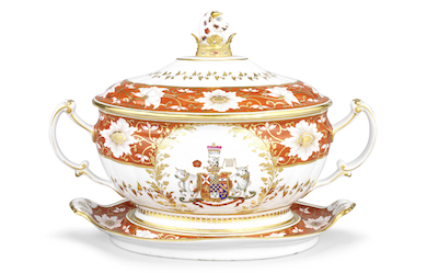 Bonhams offers peerless British Regency porcelain Sept. 29