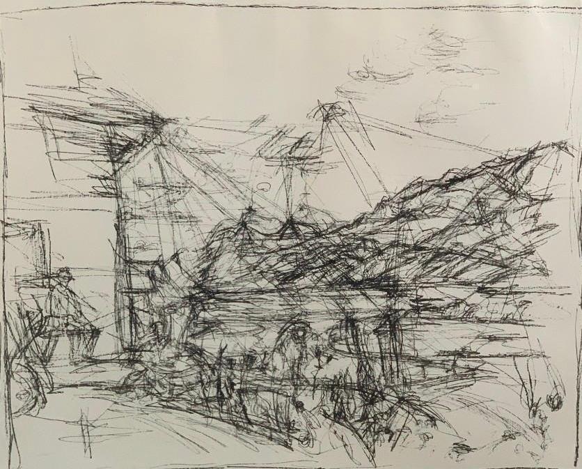 Alberto Giacometti, 'House in Maloja,' est. $4,000-$6,000