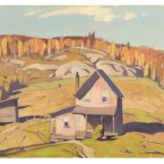 Alfred Joseph Casson, 'Outside Algonquin Park,' est. CA$30,000-$40,000
