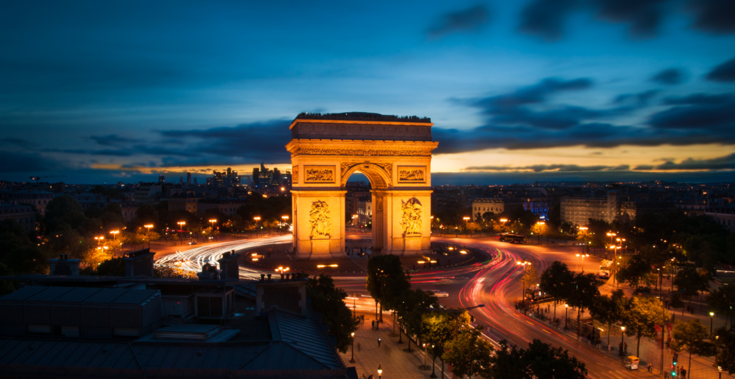 Paris' iconic landmark, the Arc de Triomphe, will be wrapped as part of a posthumous art project by Christo. Image courtesy of Xavier Sayanoff and Wikimedia Commons, published under the Creative Commons Attribution-Share Alike 4.0 International license.