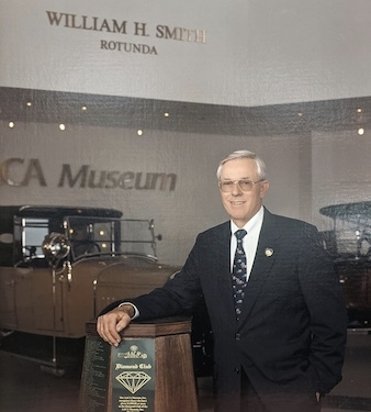 On September 29, a Celebration of Life will be held for Bill Smith, a cofounder of the Antique Automobile Club of America (AACA) Museum, in the museum rotunda that bears his name.