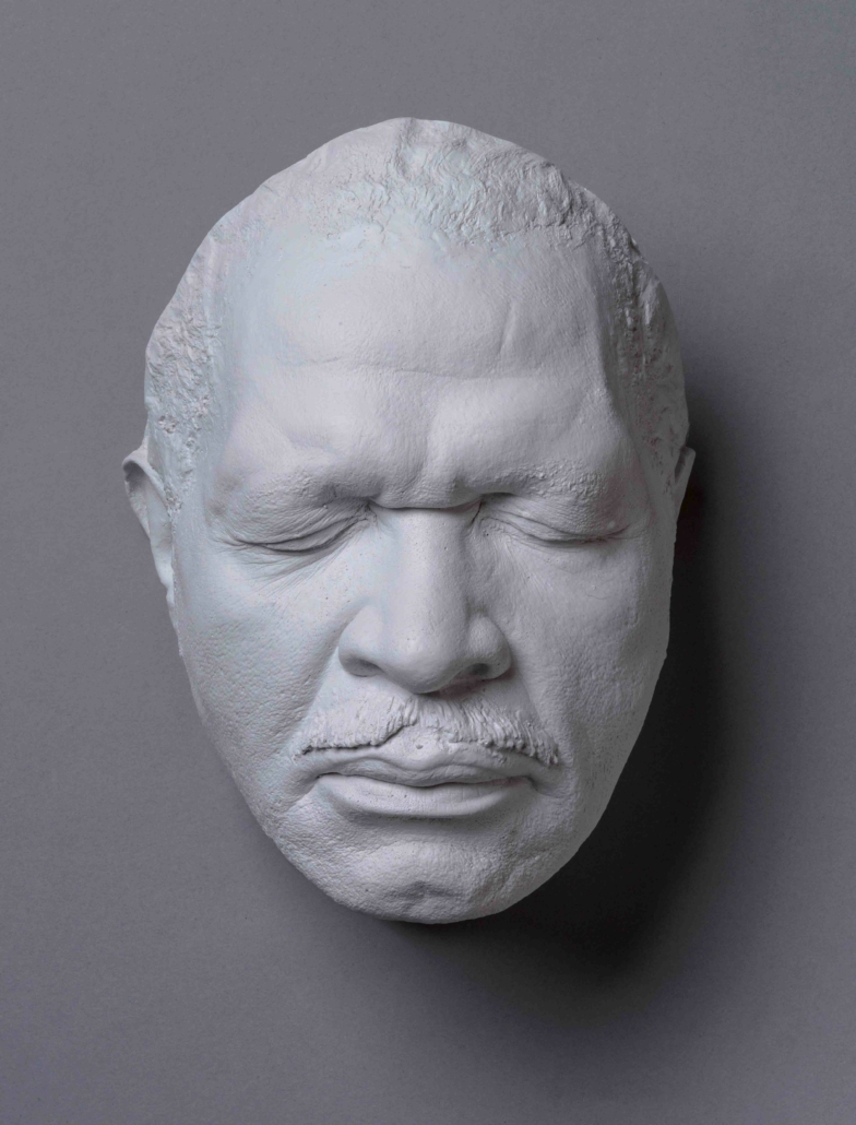 Sharon McConnell-Dickerson, Bobby Rush Cast (b. 1933). It is one of 15 resin-cast masks McConnell-Dickerson created for the A Cast of Blues exhibit.