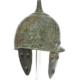 Etruscan Montefortino-type bronze helmet, est. €20,000-€30,000. Image courtesy of Bonhams