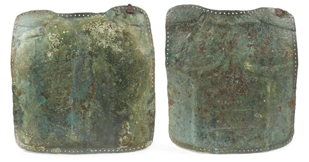 Italic bronze muscle cuirass, est. €2,500-€3,500. Image courtesy of Bonhams