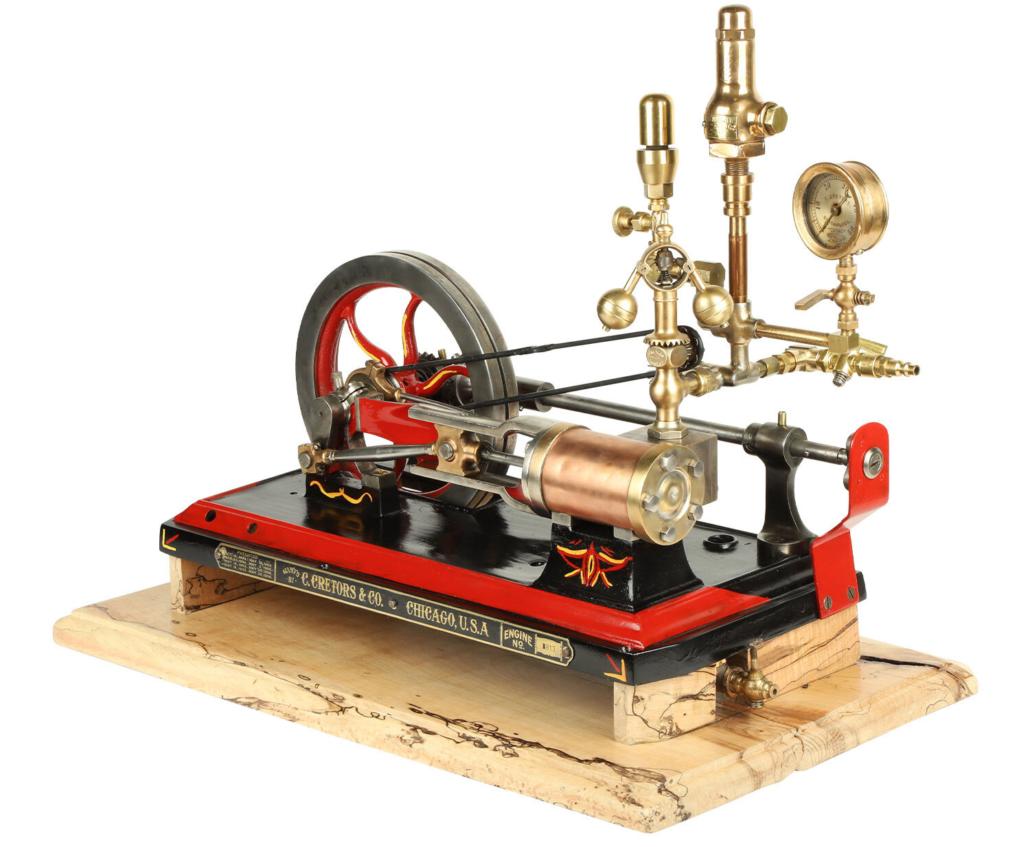 Cretors & Co. No. 1 Popcorn Machine steam engine, CA$5,605