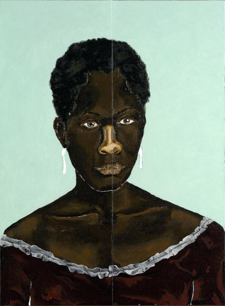Dalton Paula, 'Zeferina,' 2018, oil on canvas, Museu de Arte de São Paulo, gift of the artist on the occasion of the Afro‐Atlantic Histories exhibition, 2018. © Dalton Paula