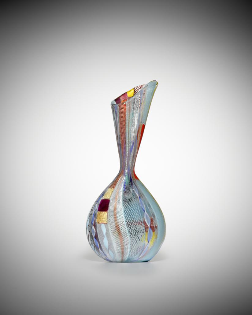 Another angle on the Dino Martens unique Anfora Ape vase. Image courtesy of Bonhams
