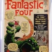 Marvel Comics' Fantastic Four #1, est. $15,000-$20,000