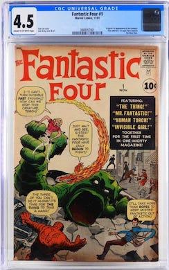 Fantastic Four, Pokemon enliven Bruneau's Sept. 25 auction