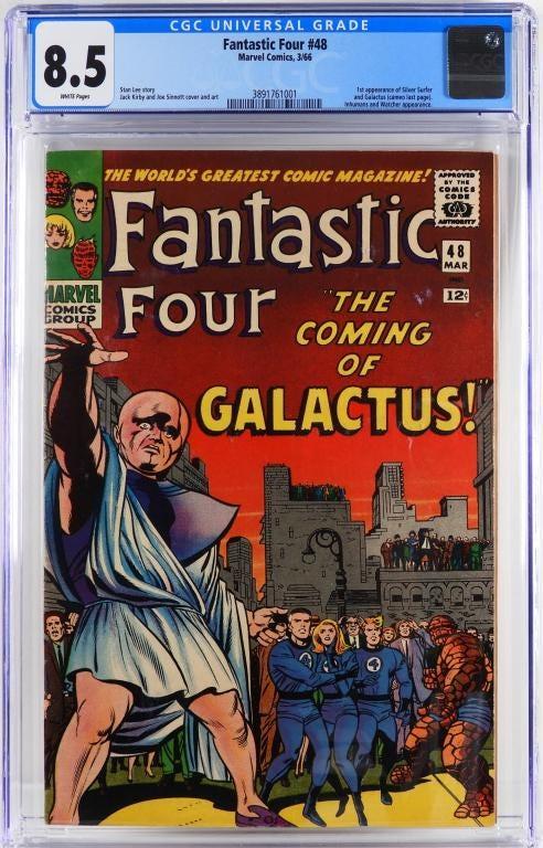 Marvel Comics' Fantastic Four #48, est. $4,000-$6,000