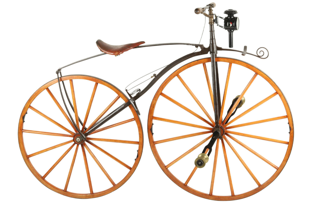 1869 French style Boneshaker bicycle, CA$10,620