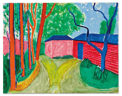 Christie's to auction David Hockney's vibrant 'Guest House Garden' in October