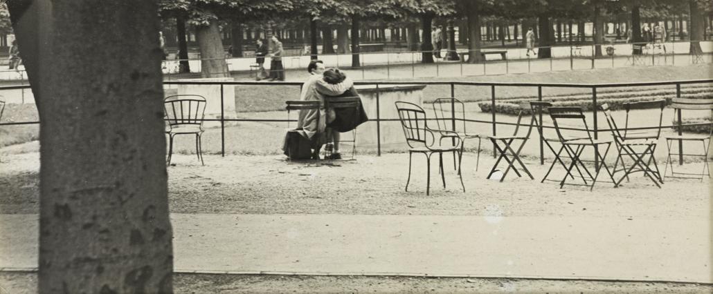 Robert Frank, 'Paris (Lovers on a Bench),' est. $15,000-$20,000