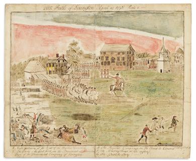 Revolutionary War commands auction spotlight at Swann, Sept. 30