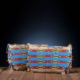 Pair of matched Cheyenne beaded hide possible bags, $31,250