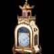 Chinese ormolu automaton acrobat mantel clock, est. $30,000-$50,000